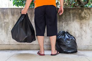 Recogida de basuras en comunidades